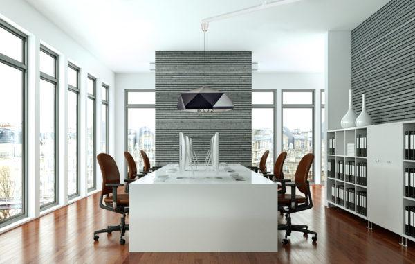 Vrida Lamparm kontor med svart lampa