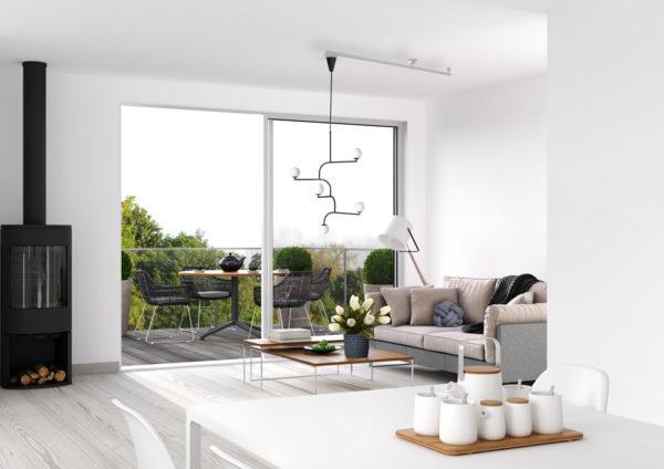 Lamparm för flytt av taklampor