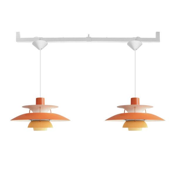 Två lampor från ett takuttag - Vrida Duo