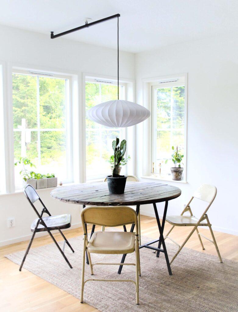 Förlängningsarm för att flytta taklampan - Vrida Light